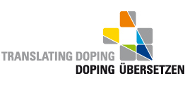 "Logo ""Translating Doping"""